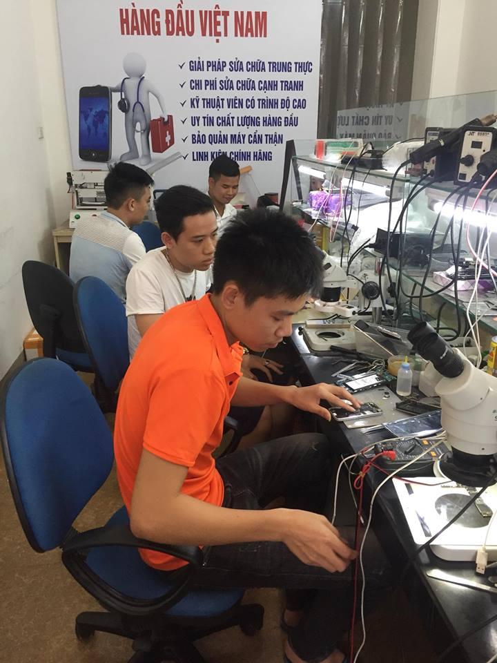 Địa chỉ sửa chữa điện thoại uy tín tại Hà Nội