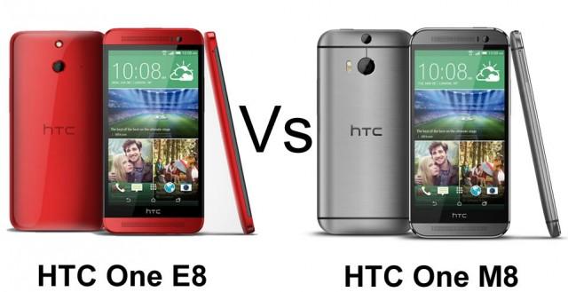 Thay mặt kính HTC One E8 và M8 có khác nhau gì không?