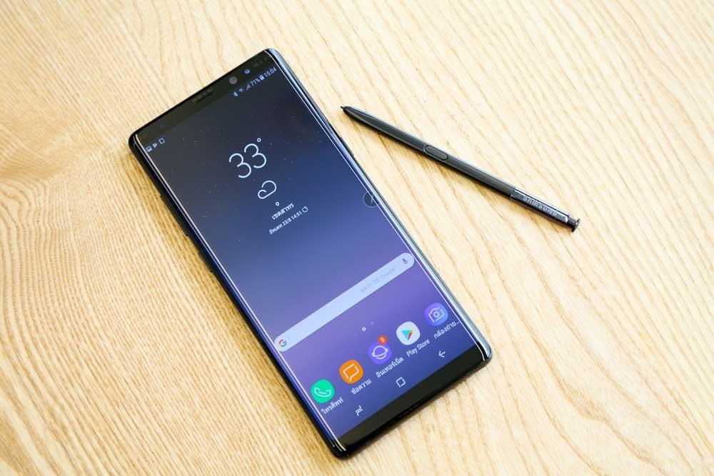 Thay màn hình Samsung Note 8: Dòng điện thoại Samsung Note cao cấp