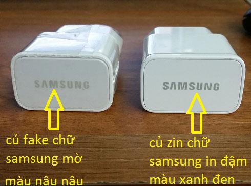 Nhiều trường hợp lỗi ở cục sạc nhanh Samsung Note 5
