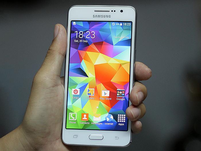 Chỉ cần thay mặt kính Samsung Grand Prime G530 khi cảm ứng và LCD vẫn bình thường