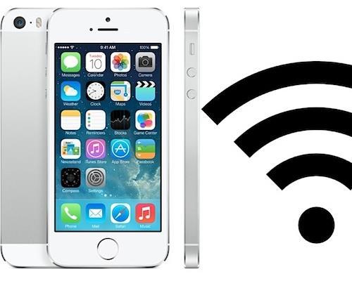 Nguyên nhân khiến wifi iPhone 5S bị lỗi