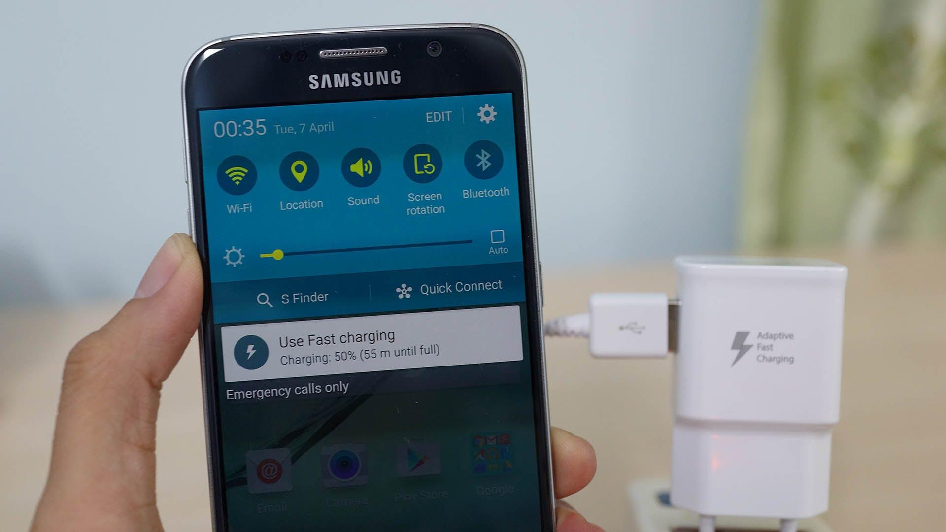 Pin lỗi ảnh hưởng đến quá trình sạc pin của Samsung