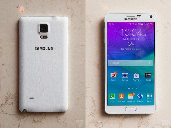 Thay main Samsung note 4