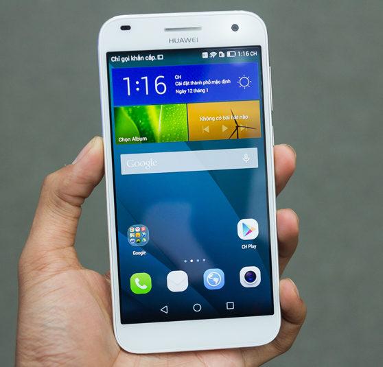 Trường hợp kính vỡ, cảm ứng lỗi: Thay kính cảm ứng Huawei G7