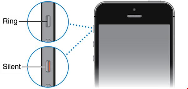 Xuất phát từ nhiều nguyên nhân khiến iPhone 5, 5S hỏng gạt rung