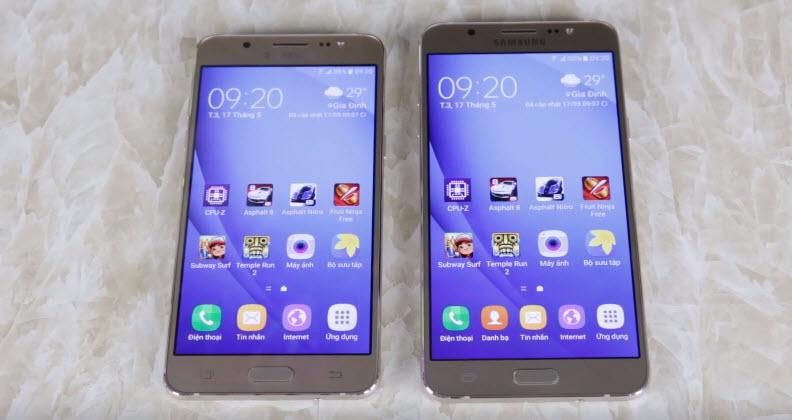 Dịch vụ thay màn hình Samsung J7 2016 Tại trung tâm Caremobile