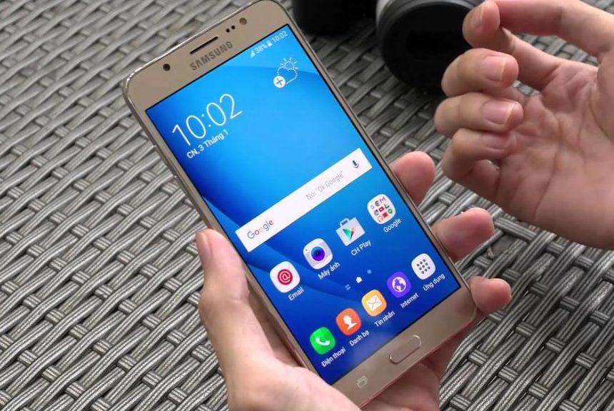 Thay IC Wifi Samsung J7 2016