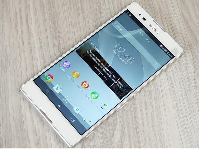 Cần thay màn hìnhSony Xperia T2 Ultra Dual khi màn lỗi, màn chết hiển thị