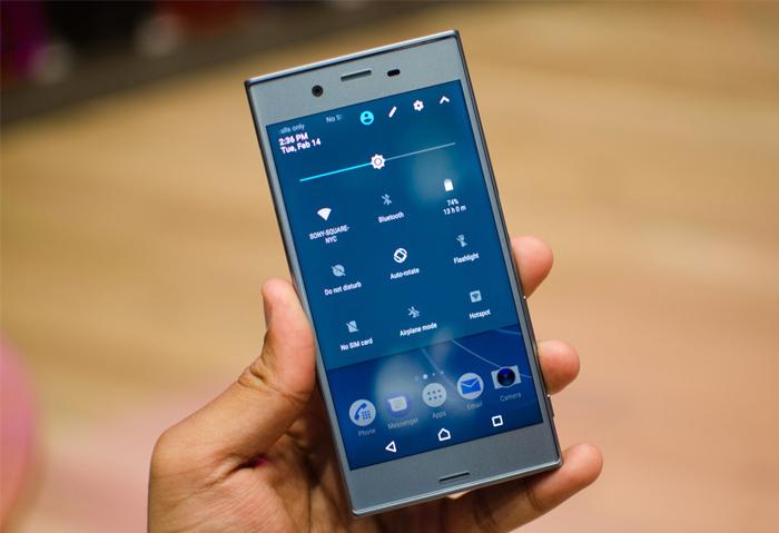 Bật/ tắt được wifi, wifi dùng ổn định không vấn đề gì trên Sony XZ.
