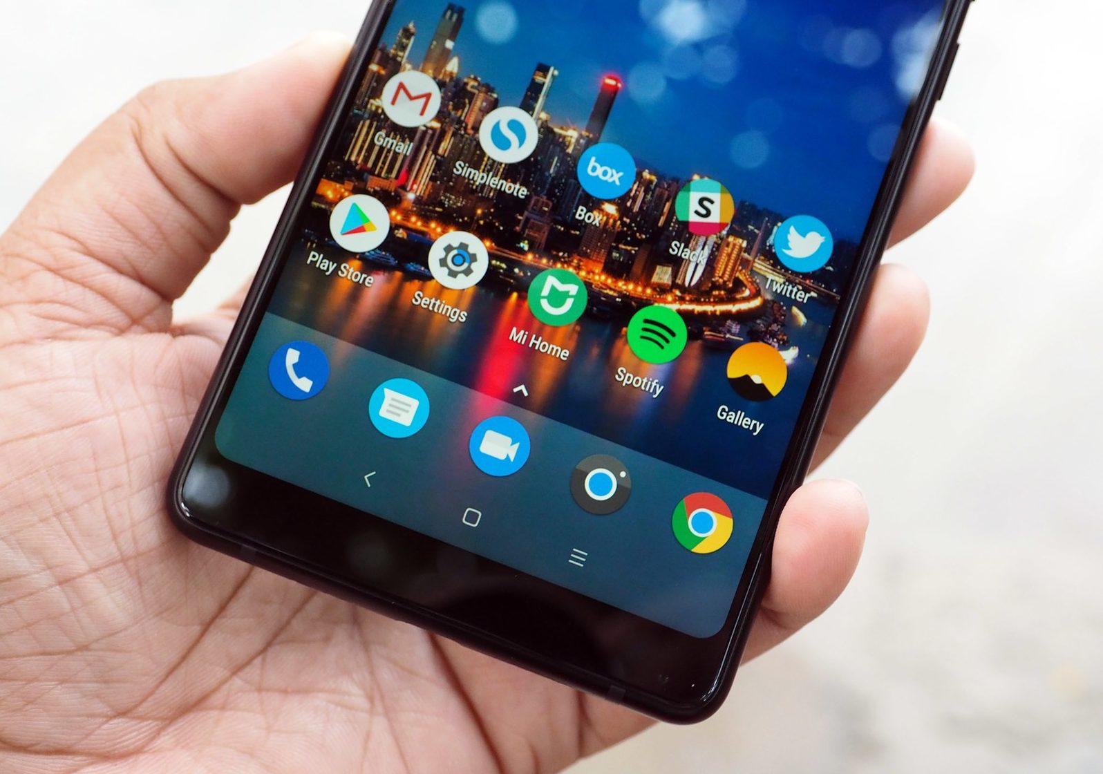 Thay màn hình Xiaomi Mi Mix 2 chính hãng Xiaomi
