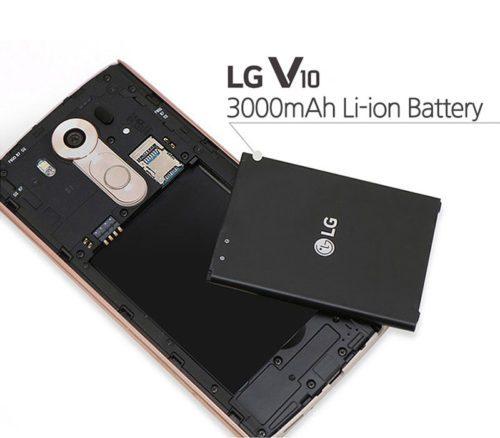 Cam kết thay pin LG V10, V20: Pin Zin, chất lượng cao.