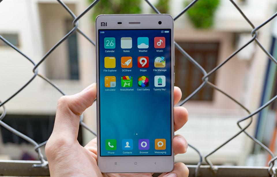 Caremobile chuyên nhận thay mặt kính cảm ứng Xiaomi Mi 4