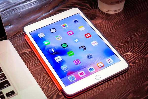iPad không sạc được pin