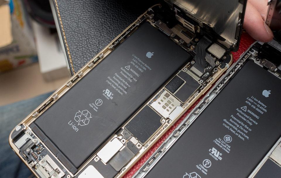 Thay IC nguồn iPhone 6S không hề đơn giản