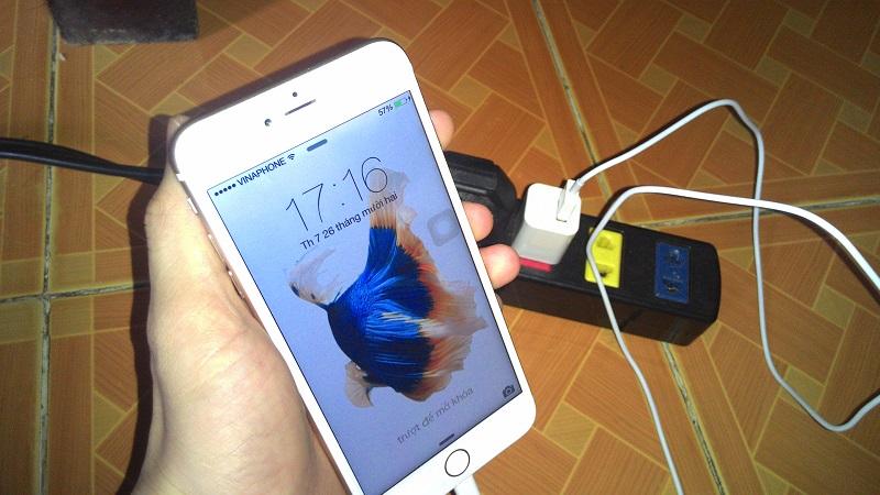 Nhận biết lỗi IC sạc iPhone 6, 6s