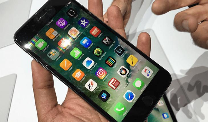 iPhone 7 liệt cảm ứng không sử dụng được