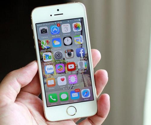 Sau khi thay thế màn hình iPhone 5S trở nên đẹp Zin như mới