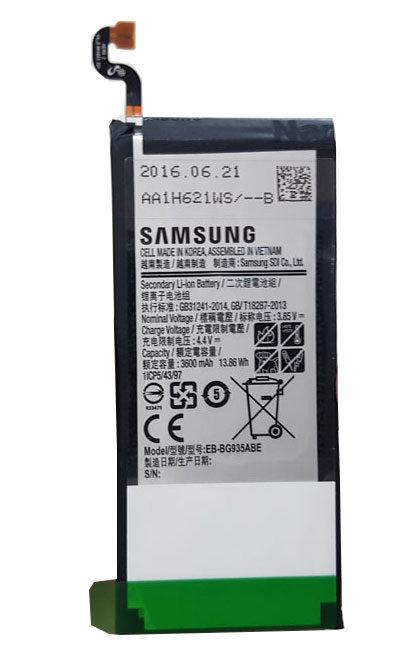 Người dùng để ý một chút là dễ dàng nhận biết Samsung S7 Edge lỗi pin.