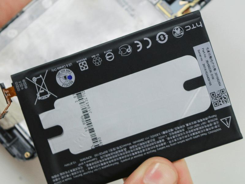 Thay pin HTC M9