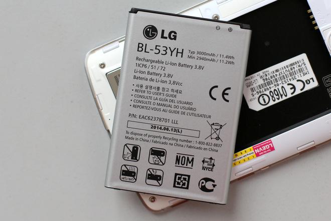 Dịch vụ thay pin LG G3 chính hãng tại trung tâm Caremobile