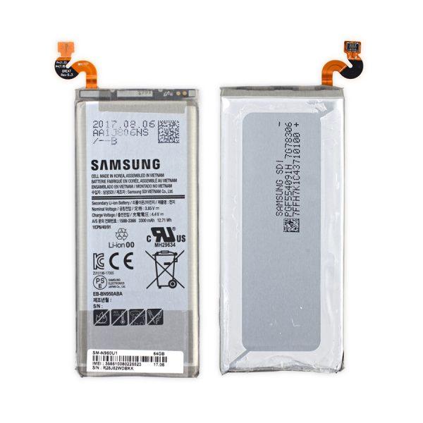 Caremobile nhận thay pin Samsung Note 8 chính hãng