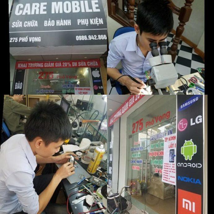 Trung tâm CareMobile chuyên sửa chữa điện thoại Smartphone