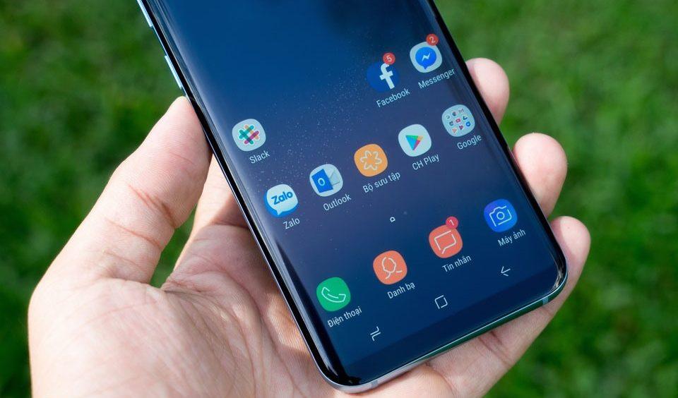 Samsung S8 Plus: dòng máy cao cấp của hãng Samsung.
