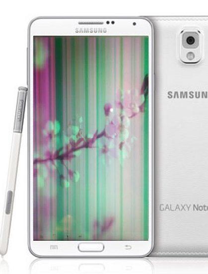 Samsung Note 4 sọc màn hình: ảnh hưởng đến quá trình người dùng