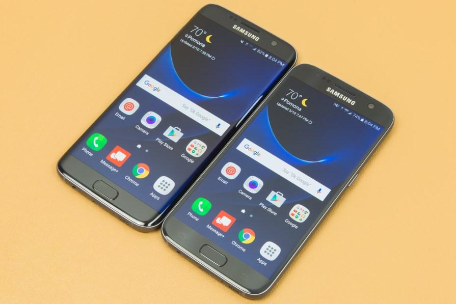 Dịch vụ sửa chữa bộ đôi Samsung S7 và S7 Edge uy tín tại Caremobile