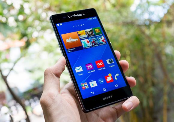 Lỗi cảm ứng, loạn cảm ứng, chết một vài điểm cảm ứng: Thay mặt kính cảm ứng Sony Z3v.