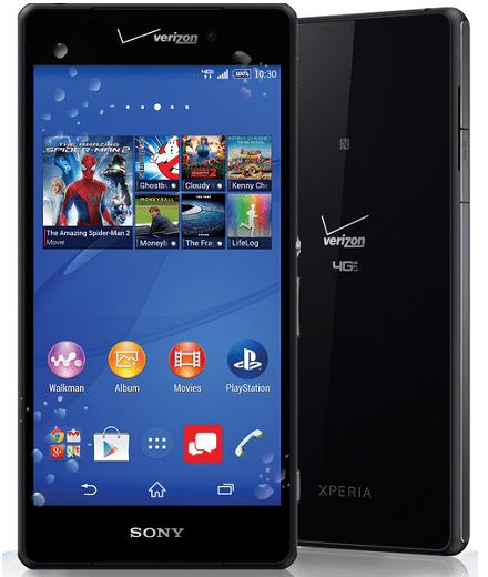 Điện thoại Sony Z3v.