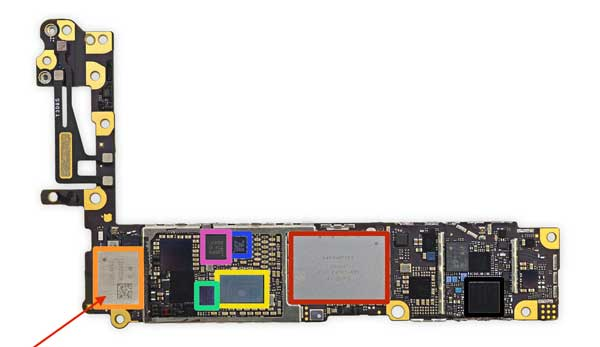 Dịch vụ sửa, thay IC Wifi iPhone 7.