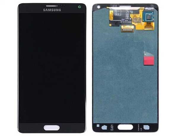 Bạn có thể lựa chọn thay màn hình để khắc phục dứt điểm Samsung Note 4 bị sọc màn hình.