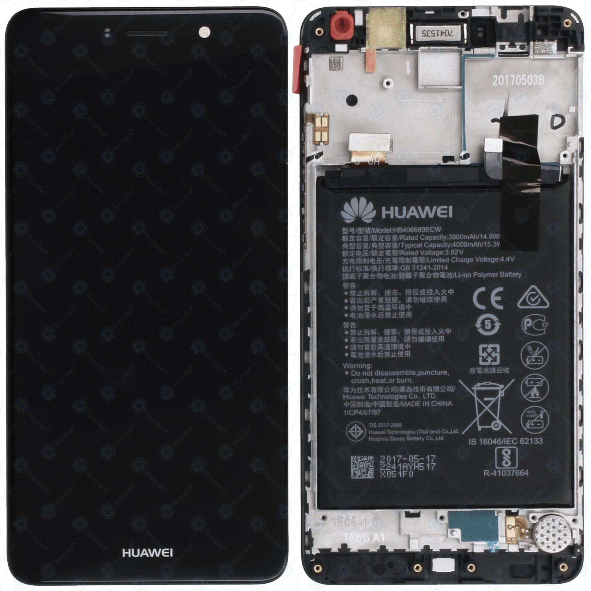 Thay pin Huawei Y7 II