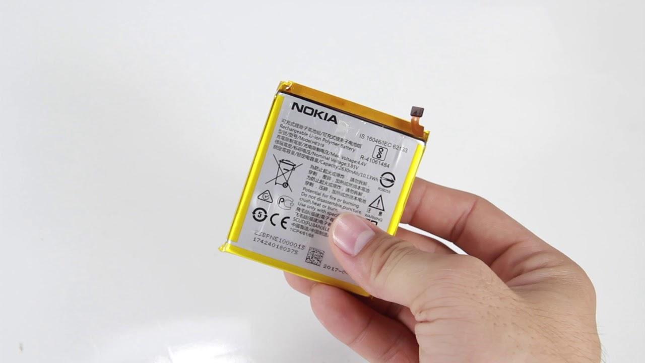 Thay pin Nokia 3 lấy ngay sau 15- 20 phút