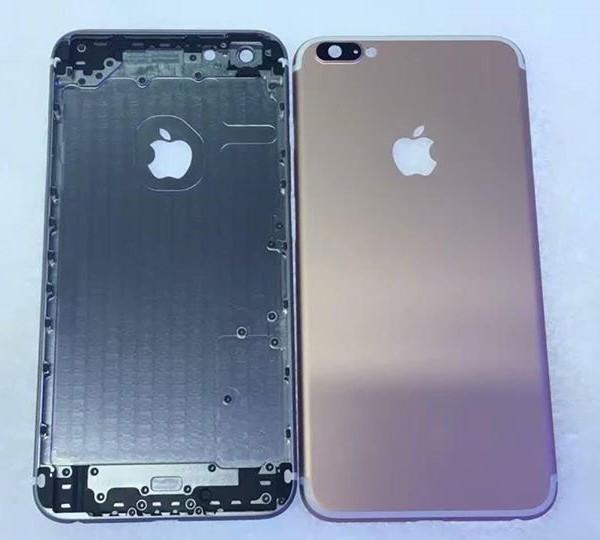 Thay vỏ/ thay khung xương iPhone 6 Plus tạo vẻ đẹp khi vỏ chai cũ màu.