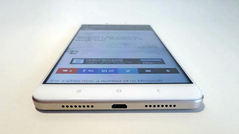 Tình trạng rơi vỡ gây vỡ mặt kính Xiaomi Mi Max