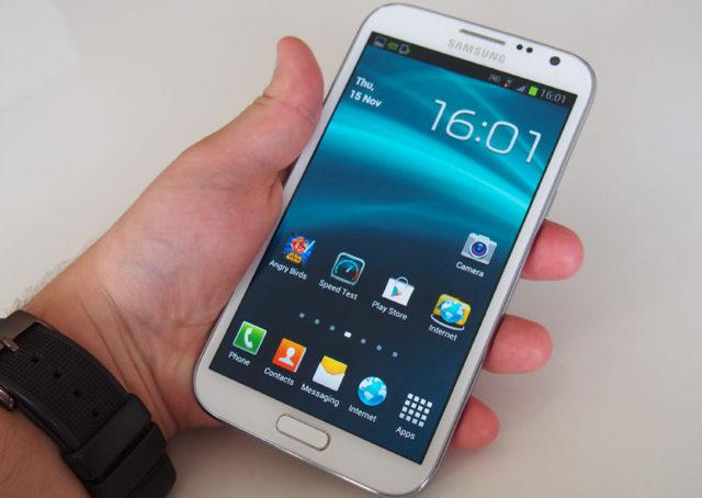 Thay mặt kính Samsung Note 2