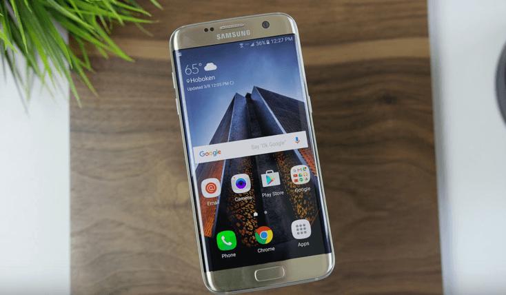 Nhận biết khi nào cần thay kính, khi nào cần thay màn hình Samsung S7 Edge.