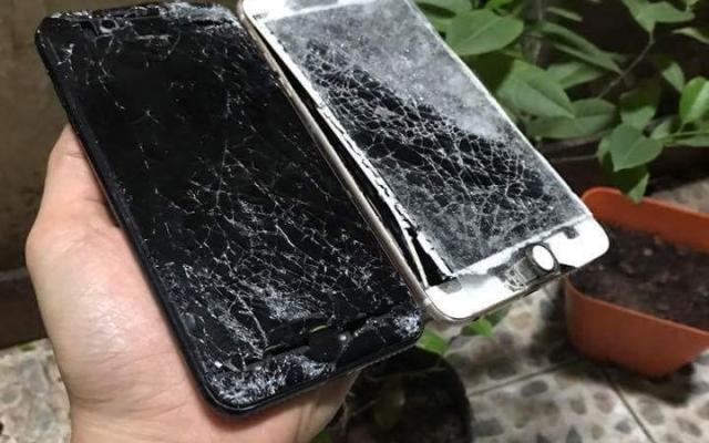Trường hợp iPhone 7 và 7 Plus vỡ kính khá nhiều