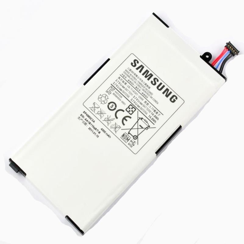 Kiểm tra pin Samsung Tab trước khi đi sửa chân sạc