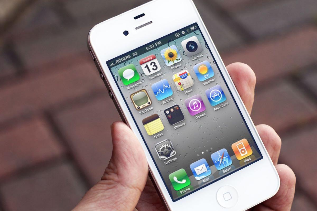 iPhone 4S chai pin đến mức máy tự động sập nguồn
