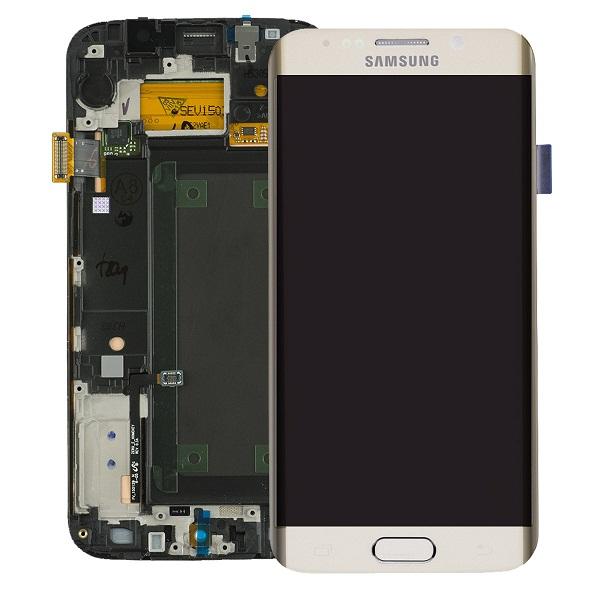 Mặt kính Samsung Galaxy S6 Edge sau khi được thay thế.