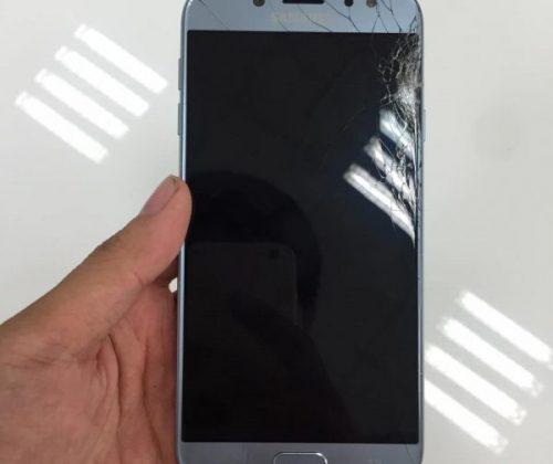 Thay mặt kính Samsung J7 pro