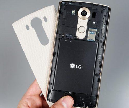 Thay pin LG 2