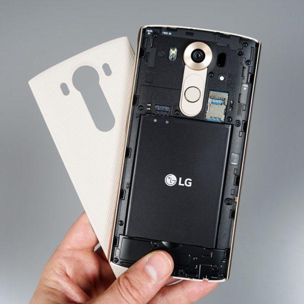 Pin của điện thoại LG.