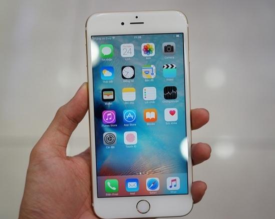 Màn hình iPhone 6S Plus bị loạn cảm ứng, loang màu 2 điểm