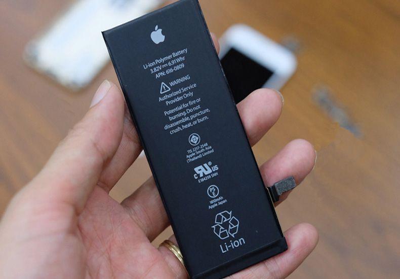Xuất phát từ pin iPhone 6S khiến máy sạc không lên pin