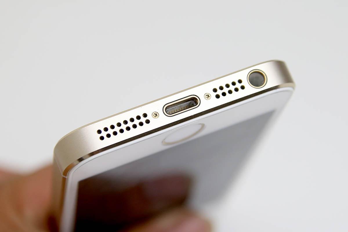 Hình ảnh chân sạc iPhone 5 sau khi được thay mới